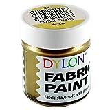 Dylon Stofffarben Töpfe - volle Auswahl an Farben! (Gold, 1)