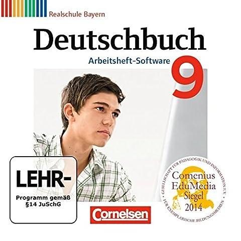 Deutschbuch 9. Jahrgangsstufe. Übungs-CD-ROM zum Arbeitsheft. Realschule Bayern