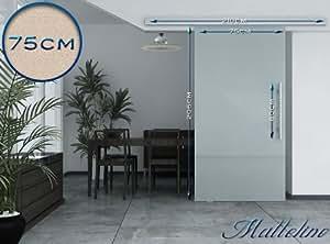 glasschiebet r milchglas schiebet r glast r 205 x 75 cm baumarkt. Black Bedroom Furniture Sets. Home Design Ideas