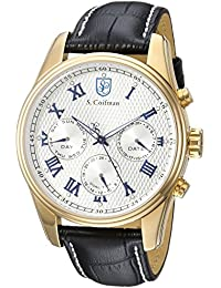 S.Coifman SC0398 - Reloj de pulsera hombre, color Negro