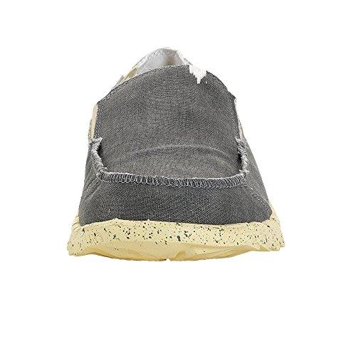 Dude Shoes Calzare Il Limone Farty Funk Grigio Maschile/Mulo Grigio