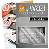 uwazi 3X Glas-klare Schutzfolie für Amazon Fire HD 10 (2017) Displayschutzfolie I Folie I Anti Fingerabdruck I Anti Kratzer
