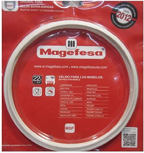 Magefesa Junta de Olla 22cm para modelos MAGEFESA hasta 2012. Repuesto Oficial Directo Desdel Fabricante...