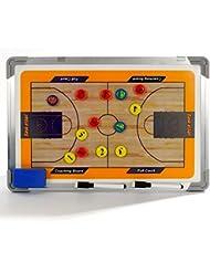 Marco de aleación de aluminio Katech baloncesto Junta de coaching estratégico de tácticas de entrenador de baloncesto tablero magnético equipo de formación práctica