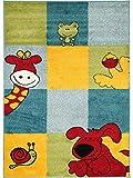 benuta Kinderteppich Noa Let's Play! Multicolor 160x230 cm | Teppich für Spiel- und Kinderzimmer