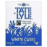 Tate & Lyle Fairtrade White Sugar Cubes (500g) - Packung mit 6