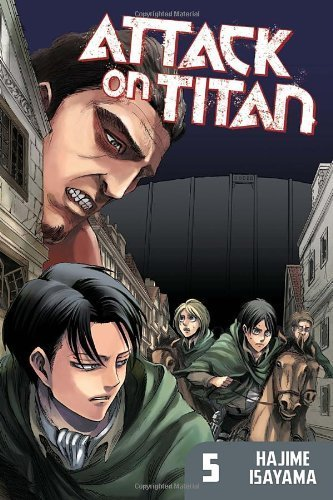 Attack on Titan 5 by Hajime Isayama ( 2013 ) Paperback
