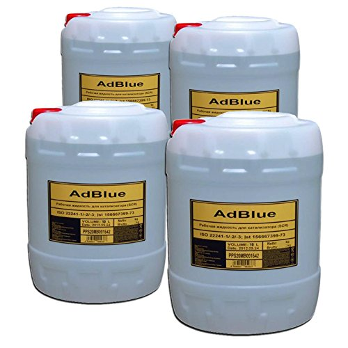 Preisvergleich Produktbild 4xAdBlue 10 Liter SCR Harnstofflösung