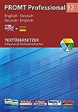 PROMT Professional 12 Englisch-Deutsch: Textübersetzer - Inklusive 20 Fachwörterbücher -