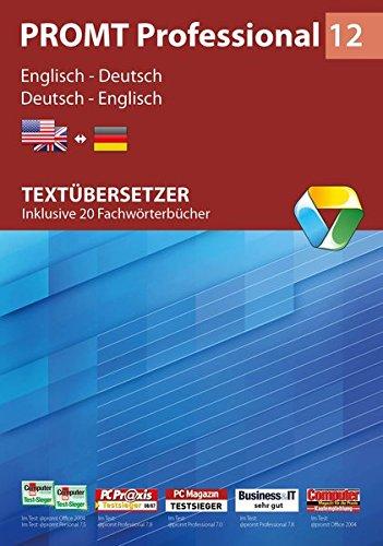 PROMT Professional 12 Englisch-Deutsch