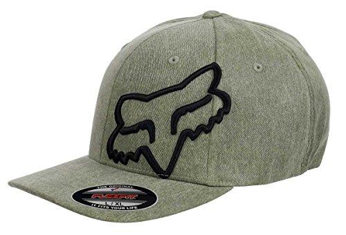 Fox Racing - Flexfit Cap - Clouded - Heather Green - L-XL (7 1/8 - 7 5/8) -