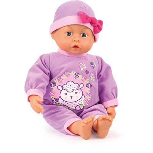 Bayer Design 93863AD - Funktionspuppe First Words Baby mit 24 lauten, 38 cm, lila Preisvergleich