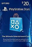 $20 PlayStation Store Gift Card (US PSN ...