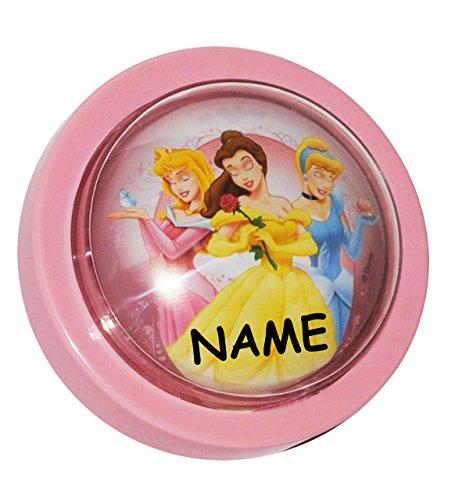 Unbekannt 1 STK. Nachtlicht  Disney Princess - Prinzessin  incl. Namen / magisches Licht LED Schlummerlicht mit Schalter - Prinzessinnen - Kinder Mädchen Baby - ()