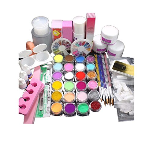 zahuihuim-cristal-couleur-professionnelle-paillettes-decoratives-rose-kit-manucure-francaise-colore