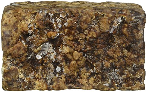 Handmade RAW ORGANIC African Black Soap 1lb. 16oz. From Ghana by Natural Cosmetics [Beauty] (English Manual)