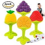 Massaggiagengive Refrigerante, Tinabless Dentaruolo rinfrescante Albero da frutta Massaggiagengive giocattolo, bambino