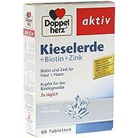 DOPPELHERZ Kieselerde + Biotin Tabl., 60 St preisvergleich bei billige-tabletten.eu