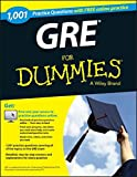 1,001 GRE Practice Questions For Dummies with Free Online Practice