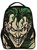Planet Superheroes Joker Certified Insane Arkham Asylum Backpack - Black - Best Reviews Guide