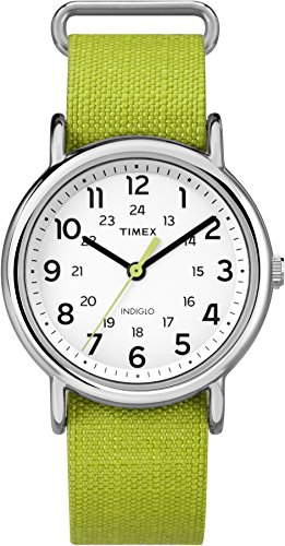 Timex Weekender Analog White Dial Unisex Watch - TW2P659006S
