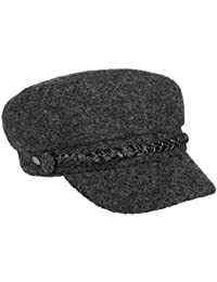 Lierys Wool Baker-Boy-Mütze Newsboy-Mütze Schildmütze Damencap für Damen mit Schirm Winter