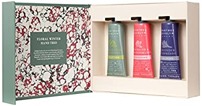 Crabtree & Evelyn Floral Winter Hand Therapy Trio, 25 g, Pack of 3