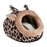 Unbekannt wfz17schöne kleine Tiere Pet Bett mit Eichhörnchen Welpen Hamster, Käfig