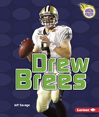 Drew Brees (Amazing Athletes) (English Edition) Purdue-player-serie