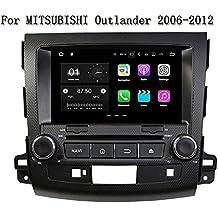 """8""""Android 7.1.2coche GPS Navi reproductor de DVD para MITSUBISHI OUTLANDER 2006–20122GB RAM 16G ROM Multimedia Jefe Unidad de Radio Auto"""