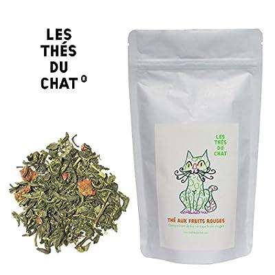 Thé vert aux fruits rouges - Composition de thé vert aux fruits rouges.