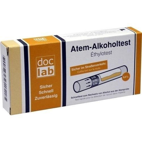 ALKOHOLTEST Atem 0,20 Promille 0,20 mg/l 1 St