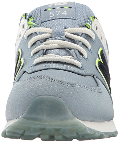 New Balance Kids Classics Textile Trainers Grey Multi