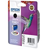 1 Original Printer Ink Cartridge for Epson Stylus Photo R285 - Black