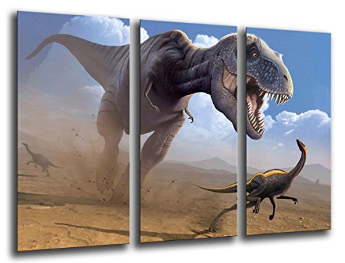 Poster Moderno Fotografico Dinosaurios, T-Rex, 97 x 62 cm, ref. PST26033