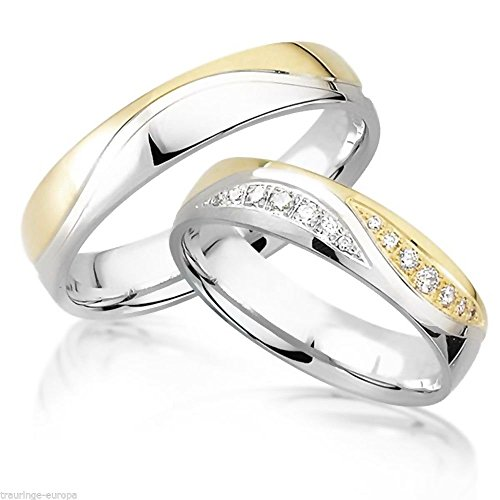 his-hers-matching-set-titanium-steel-wedding-band-ring-sold-by-pair-free-engraving