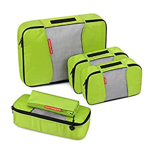 Gonex Sac Organisateur de Bagage Valise Packing Cube Emballage Sacoche Rangement de Voyage Imperméable Etanche