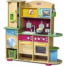 Little Tikes Cookin' Creations Kitchen Cocina y comida Estuche de juego - juguetes de rol para niños (Cocina y comida, Estuche de juego, 3 año(s), Niño/niña, Multicolor, De plástico)