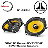 "JL Audio C1-570X - C1 5""x7""/6""x8"" (125 x 180 mm) 2 Way Coaxial Speakers"