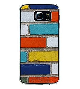Colourful Wall 2D Hard Polycarbonate Designer Back Case Cover for Samsung Galaxy S6 G920I :: Samsung Galaxy G9200 G9208 G9208/SS G9209 G920A G920F G920FD G920S G920T