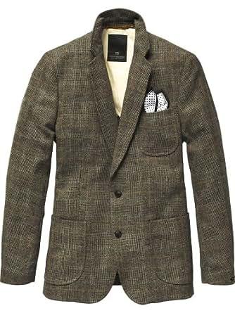 Scotch & Soda Herren Blazer & Sakko classic blazer - 11040830002, Gr. 48 (M), Mehrfarbig (E - dessin E)