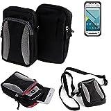K-S-Trade Belt bag, holster/shoulder bag for Panasonic