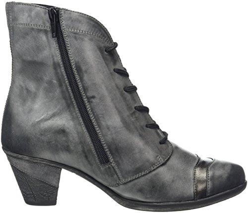 Remonte D8774, Bottes Chukka Femme Multicolore (Negro/altsilber/asphalt)