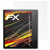 atFolix Schutzfolie kompatibel mit Amazn Kindl Oasis Model 2017 Displayschutzfolie, HD-Entspiegelung FX Folie (2X)