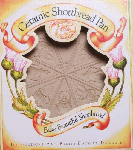 Brown Bag Design Tea Time Shortbread Cookie Pan, 11-3/4-Inch by 9-1/4-Inch by Brown Bag Brown Bag Shortbread Pan