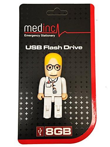 medinc-usb-speicherstick-medizin-design-8-gb-ideal-fur-studenten-male-doctor-gp