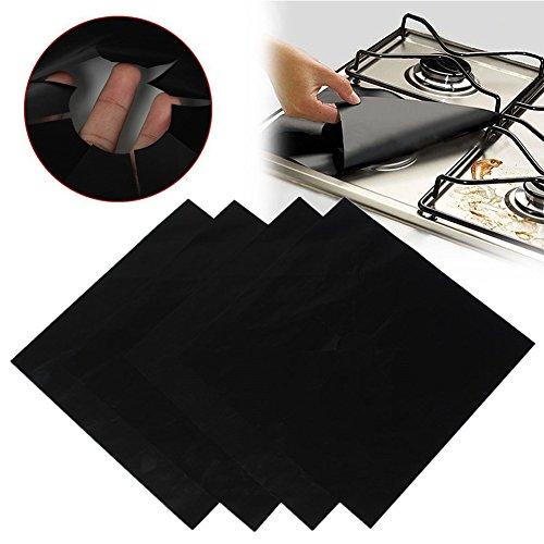 iiniim-riutilizzabili-4-gas-piano-cottura-liner-cottura-antiaderente-protector-pad-black