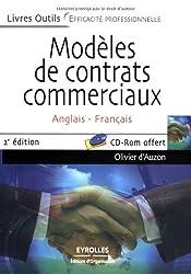 Modèles de contrats commerciaux anglais-français (1Cédérom)