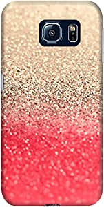 DailyObjects Gatsby Coral Gold Case For Samsung Galaxy S6