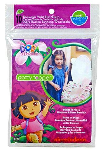 Neat Solutions Dora the Explorer Töpfchen Einweg-Toilettenauflagen, Bezüge, buy (Einweg Seat Cover Kinder)